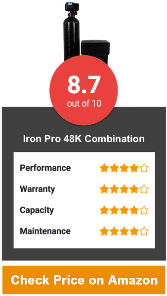 Iron Pro 48K Combination Water Softener