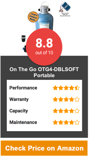 On The Go OTG4-DBLSOFT-Portable Softener