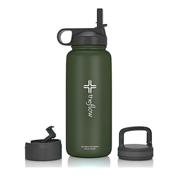 By the flow Stainless Steel Water Bottle