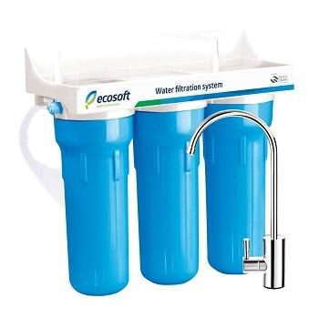 Ecosoft 3 Stage Under Sink Water Filter