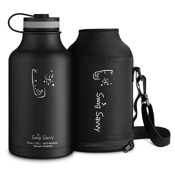 Swig Savvy's Insulated Water Bottle