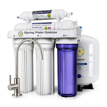 iSpring RCC7 5-Stage Reverse Osmosis Water Filter